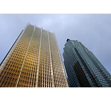 "RBC ""golden glass"" building Toronto Photographic Print"