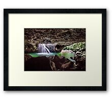 Natural Arch - Gold Coast Qld Australia Framed Print