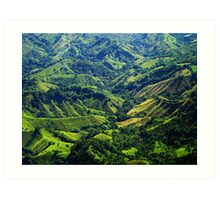 Dominican Republic: My First Peek Art Print