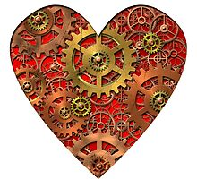 mechanical heart by siloto