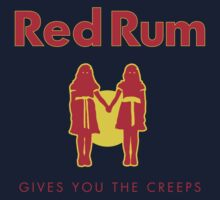 REDRUM gives you the creeps! (red) One Piece - Short Sleeve