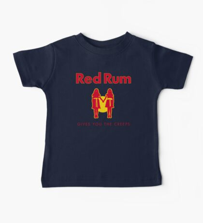 REDRUM gives you the creeps! (red) Baby Tee
