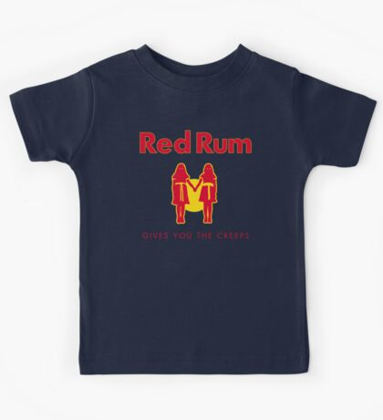 REDRUM gives you the creeps! (red) Kids Tee