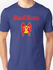 REDRUM gives you the creeps! (red) Unisex T-Shirt
