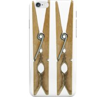 Clothes Pins iPhone Case/Skin