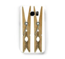 Clothes Pins Samsung Galaxy Case/Skin