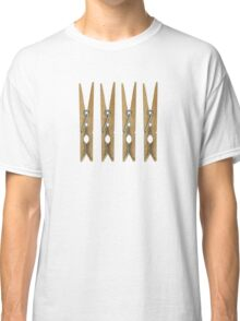 Clothes Pins Classic T-Shirt