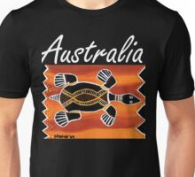 Trible Turtle Australia Unisex T-Shirt