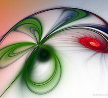 Flutter by Sandra Bauser Digital Art