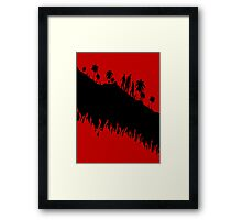 Dead Island Riptide: Zombie Outlines Framed Print