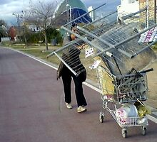it fell off the back of a trolley.... by MikeShort