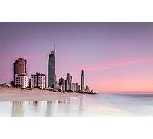 Sunrise in Paradise - Gold Coast Qld Australia Photographic Print