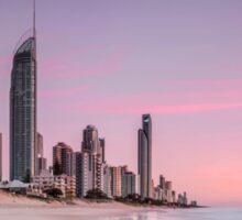 Sunrise in Paradise - Gold Coast Qld Australia Sticker