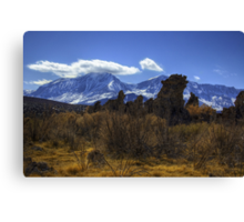Tufa Towers and the Sierras Canvas Print