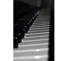 Keys On A Keyboard Photographic Print