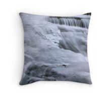 Spillway, detail Throw Pillow