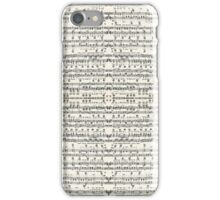 musical iPhone Case/Skin