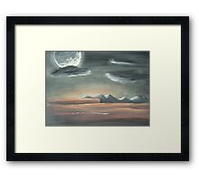 Arizona night Framed Print