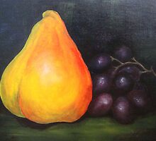 Still Life - Fruit by sandrarosiak