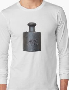 weight - one kilogram Long Sleeve T-Shirt