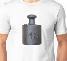 weight - one kilogram Unisex T-Shirt