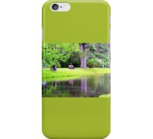 A day at the park iPhone Case/Skin