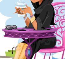 Arabian Coffee Sticker