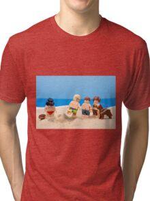 Vader's Sandcastle  Tri-blend T-Shirt