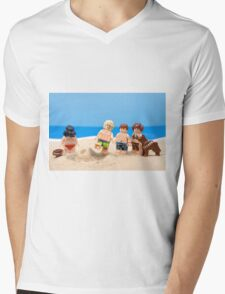Vader's Sandcastle  Mens V-Neck T-Shirt