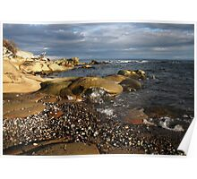 sandstone shore Poster
