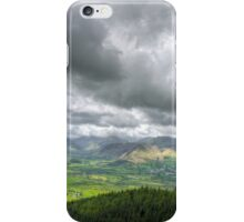 clouds and mountains iPhone Case/Skin