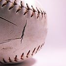 Worn Down Softball by Brandon Edwards