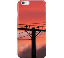 Powered Sillouette iPhone Case/Skin