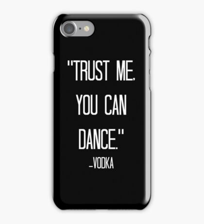 vodka love relative iPhone Case/Skin