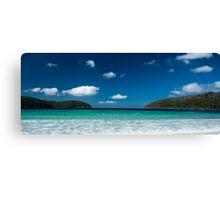 Pristine Waters - Fortescue Bay, Tasmania Canvas Print
