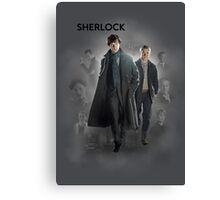 BBC Sherlock Canvas Print