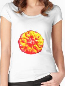 Psychedelic Solar Peyote Journey Women's Fitted Scoop T-Shirt