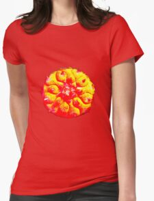 Psychedelic Solar Peyote Journey Womens Fitted T-Shirt