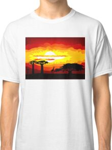 Africa sunset Classic T-Shirt