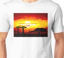 Africa sunset Unisex T-Shirt
