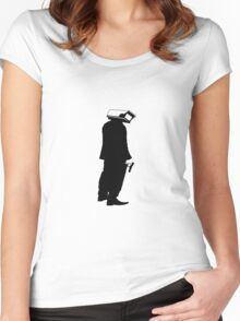 Agent of the System Women's Fitted Scoop T-Shirt