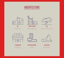 Architecture Line Design Baby Tee