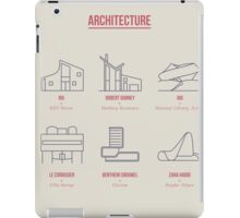 Architecture Line Design iPad Case/Skin