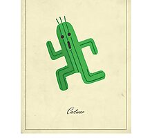 Cactuar Photographic Print