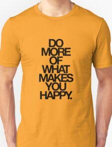do more. T-Shirt