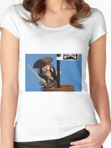 Lego Captain Jack Sparrow Women's Fitted Scoop T-Shirt