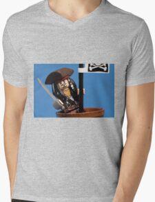 Lego Captain Jack Sparrow Mens V-Neck T-Shirt