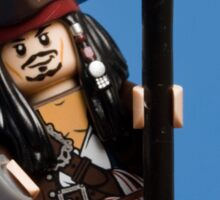 Lego Captain Jack Sparrow Sticker