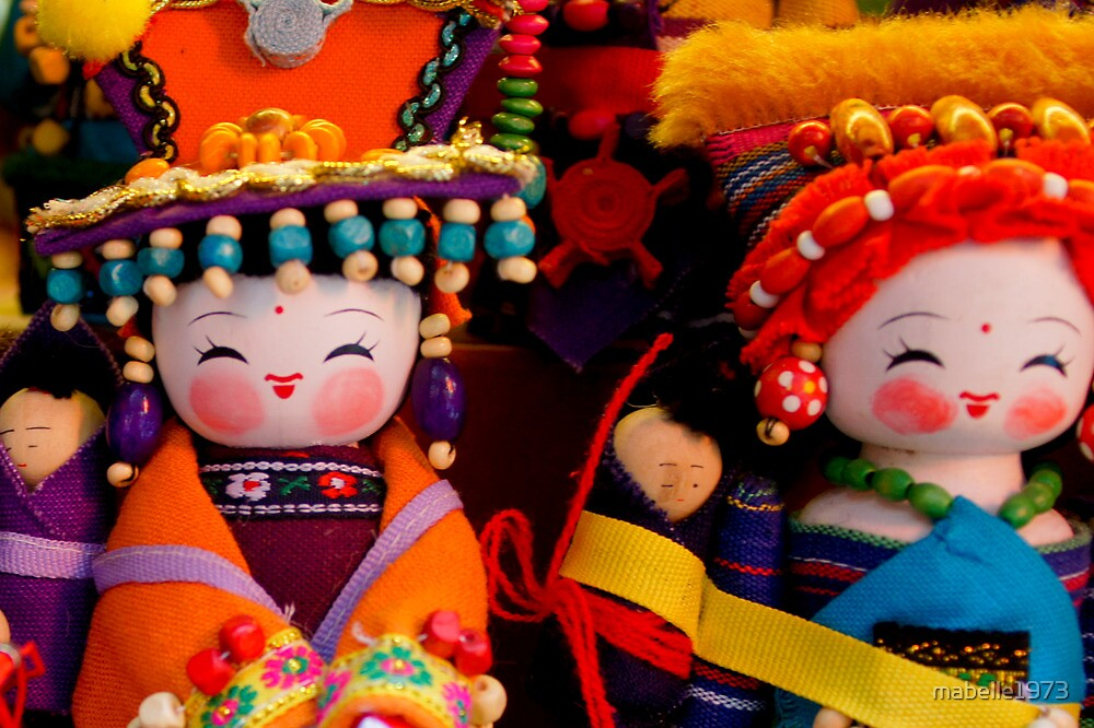 Chinese dolls by mabelle1973