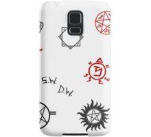 Supernatural Sigils and Symbols Samsung Galaxy Case/Skin